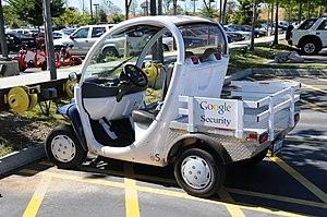 English: Google Electric Car Seciurity 2008 (V...