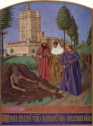 Jean Fouquet - Job and his False Comforters - ...