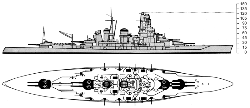 File:Kongo class battleship drawing.png