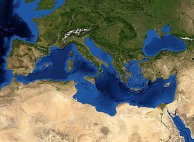 Southern Europe   Wikipedia Geographic features of Southern European countries surrounding the  Mediterranean Sea