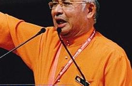 Najib at an UMNO General Assembly