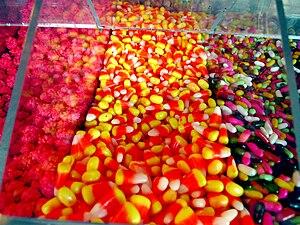 English: Candy corn.