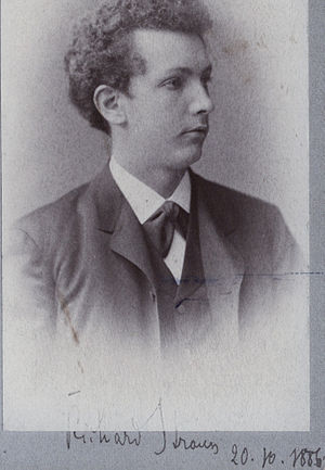 English: Photo of Richard Strauss, dated 20.10...