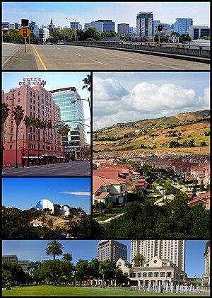 English: Montage of San Jose, California pictures.
