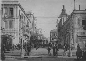 English: The center of Thessaloniki, Greece, i...