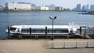 Tokyo Mizube Cruising Line at Chuo-ku, Tokyo, ...