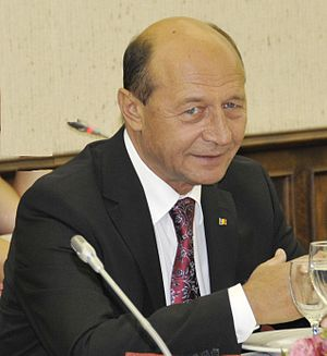 Traian Basescu at EPP Summit September 2010