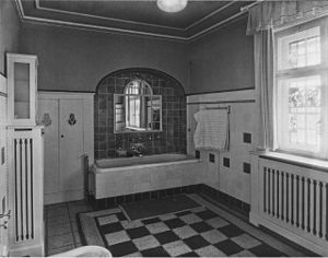 Deutsch: Badezimmer.