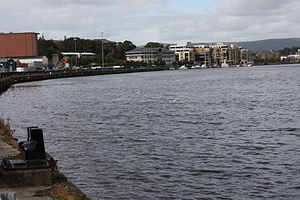 English: River Foyle, Derry, County Londonderr...