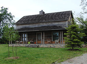 English: The Braden energy efficient farm house