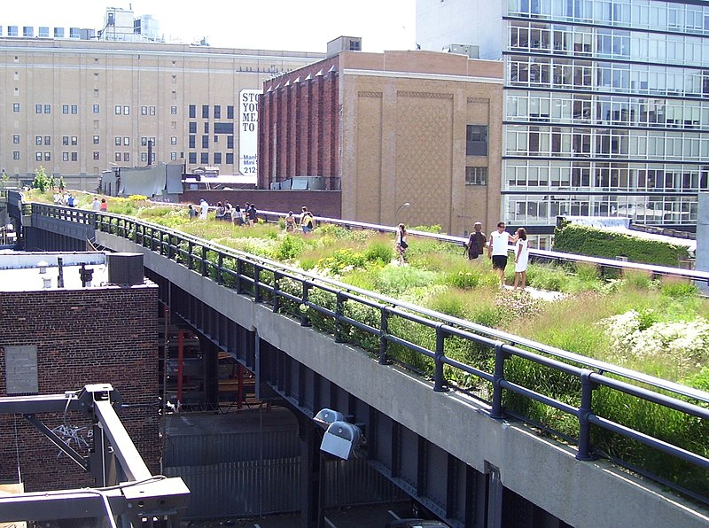 High Line 20th Street looking downtown