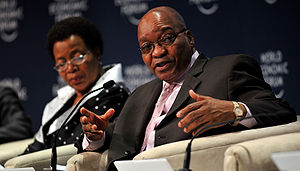 CAPE TOWN/SOUTH AFRICA, 12JUN2009 - Jacob Zuma...