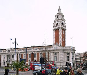 Lambeth Town Hall (also known as Brixton Town ...