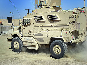 English: The new Mine Resistant Ambush Protect...