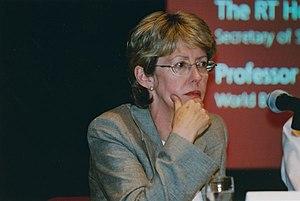English: Rt. Hon. Patricia Hewitt