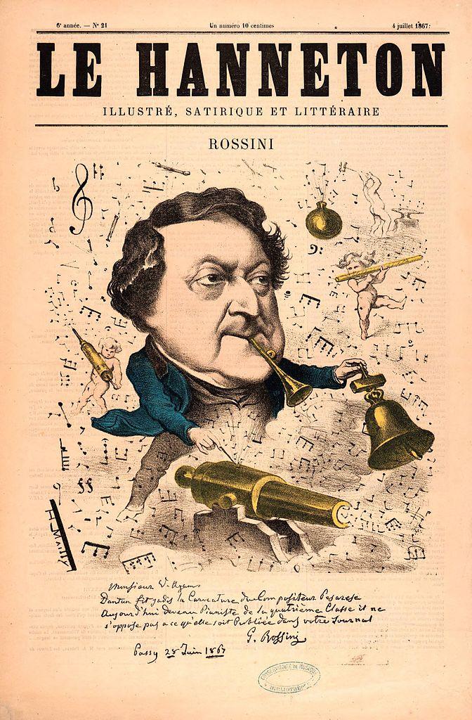 Caricatura publicada en la revista