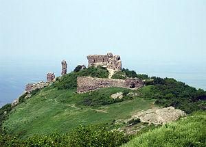 Română: Ruinele Cetatii Siria, Comuna Siria, j...