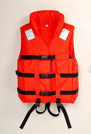 Standard universal life jacket Українська: Уні...