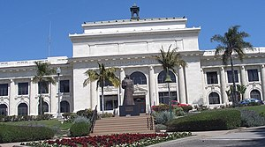 The City Hall of the City of San Buenaventura ...