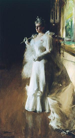 "'''Portrait titled ""Mrs. Potter Palmer&qu..."