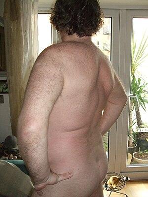 English: nudist nudism naked