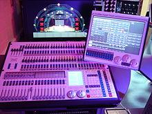 lighting control console wikipedia
