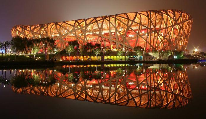 Image result for birds nest stadium