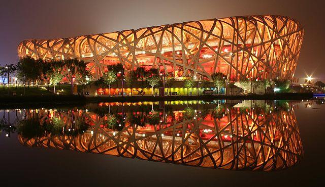 Beijing National Stadium (@Wikipedia)