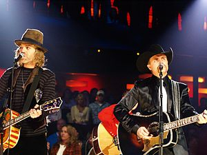 English: Big & Rich on stage