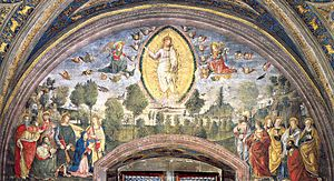 The Ascension Fresco Borgia Apartments, Hall o...