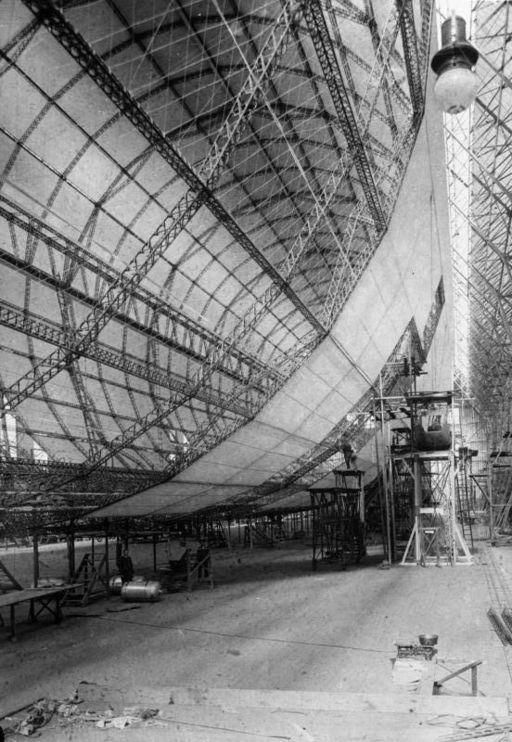 Bundesarchiv Bild 102-00834, Friedrichshafen, Luftschiff Graf Zeppelin
