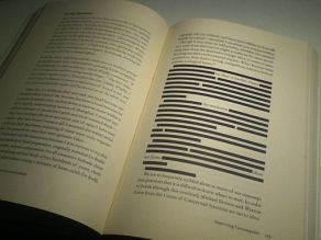 Censored section of Green Illusions by Ozzie Zehner