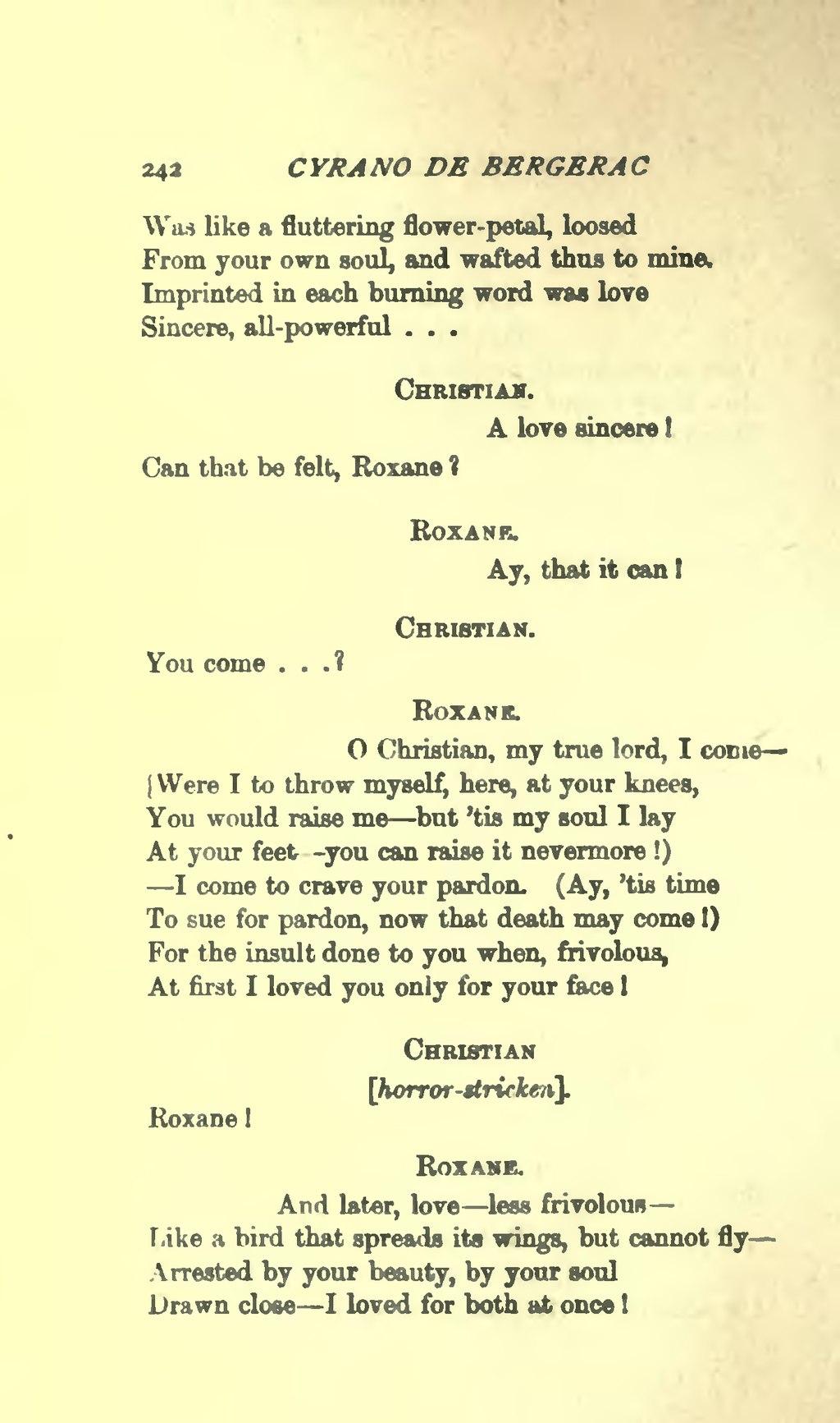 Page Cyrano De Bergerac Vu 254