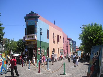 El Caminito de La Boca - Buenos-Aires