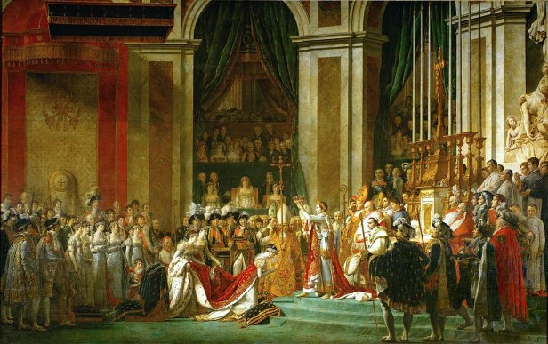"""""""The Coronation of Napoleon"""" by Jacques-Louis David"""