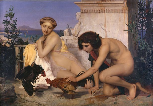 The Cock Fight by Jean-Léon Gérôme