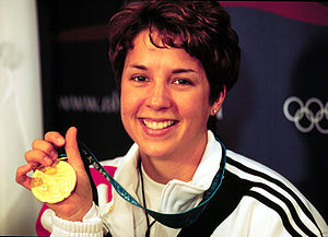 Nancy Johnson, Olympic gold-medalist in air rifle