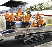 Nuna3 solar race car
