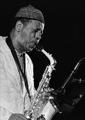 English: American jazz saxophonist Ornette Coleman