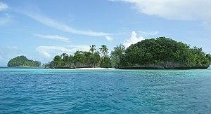Rock Islands in Palau.