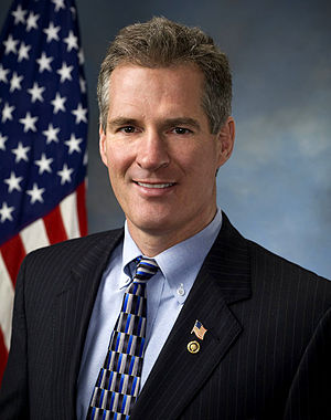 Official portrait of Senator Scott Brown