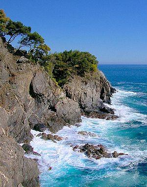 Characteristic Coastal Stretch of Cinque Terre.