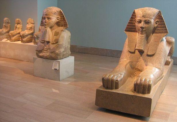 Sphinx hatshepsout MET NYC