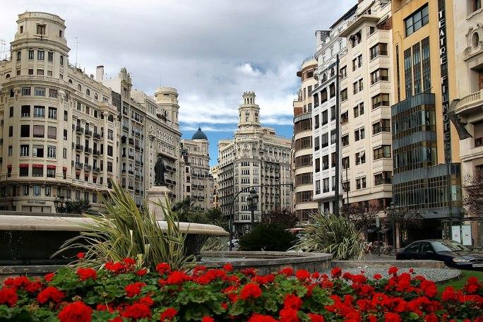 Valencia- Plaza del Ayuntamiento (25311977285)