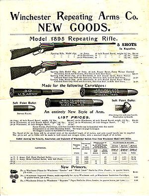 English: Advertisement for the Winchester Mode...