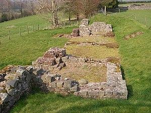 English: Cicvcivm - Brecon Gaer, near to Abery...