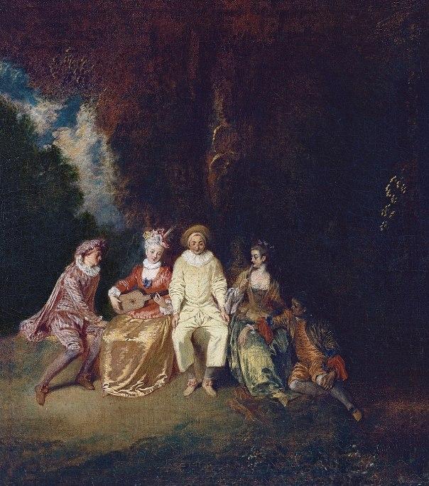 Antoine Watteau - Pierrot Content - WGA25440.jpg
