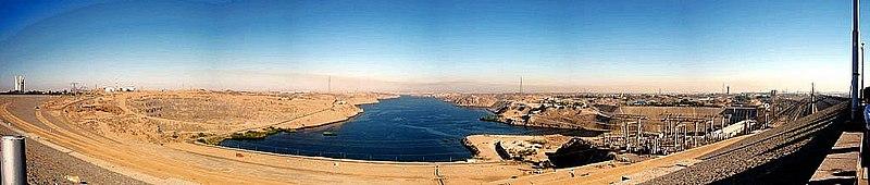 Aswan High Dam (Wikipedia)
