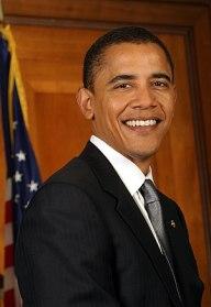 English: Barack Obama, President of the United...