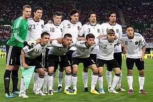 German national football team against Austria ...